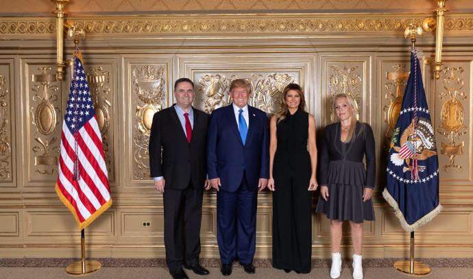 """הזוגות טראמפ וכ""""ץ"""