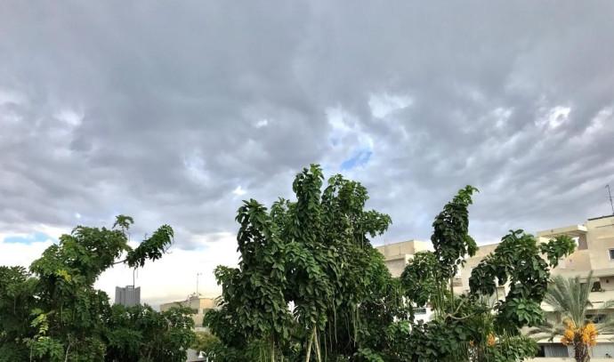 גשם בתל אביב