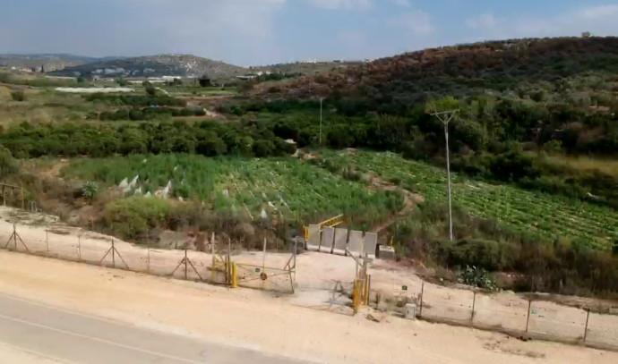 הגדר הפרוצה בעמק חפר