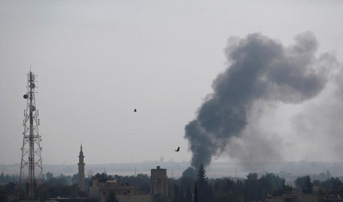 הפצצות של צבא טורקיה בצפון סוריה