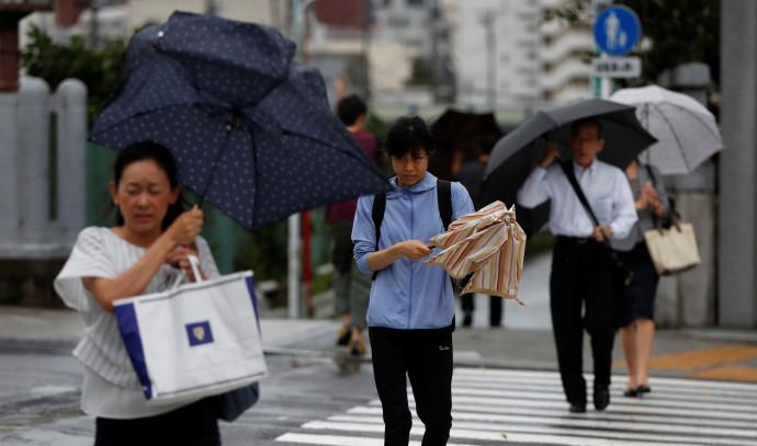 סופת טייפון בטוקיו, יפן
