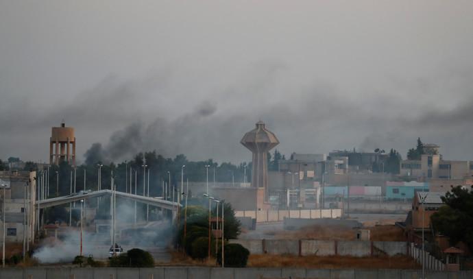 כוחות של צבא טורקיה בגבול עם סוריה. צילום: רויטרס