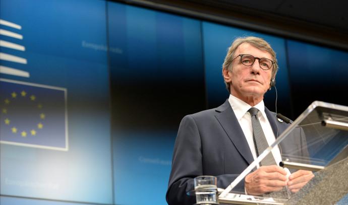 דויד סאסולי נשיא הפרלמנט האירופי