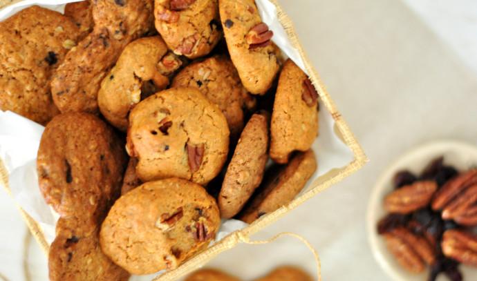 עוגיות מקמח כוסמין ושמן קוקוס