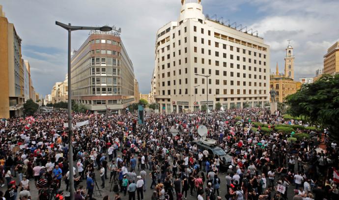 הפגנות בלבנון