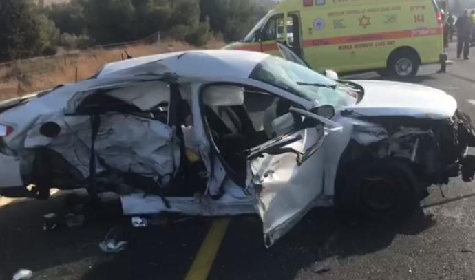 תאונת דרכים בכביש 6