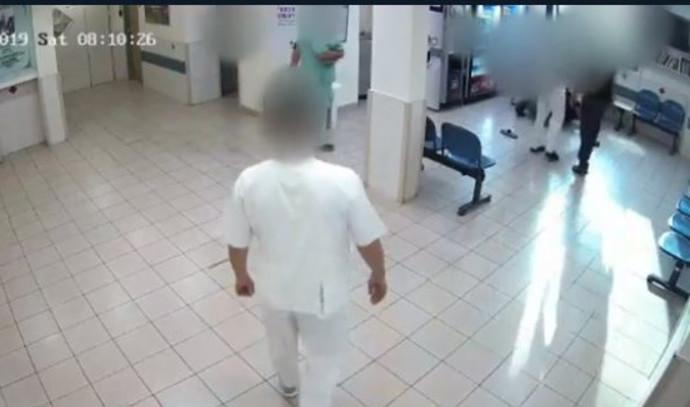 תקיפת צוות רפואי בבית החולים פוריה