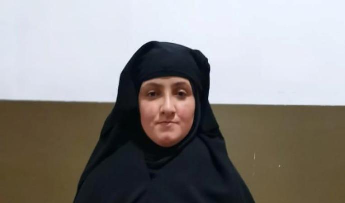 ראסמיה עוואד, אחותו של בגדדי