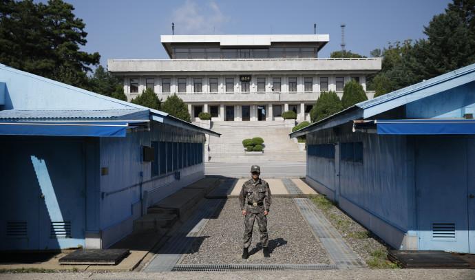 האזור המפורז בין קוריאה הדרומית והצפונית
