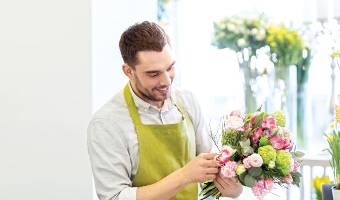 מוכר פרחים