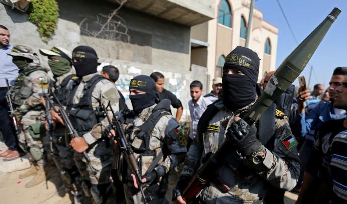 פעילי הג'יהאד האסלאמי ברצועת עזה