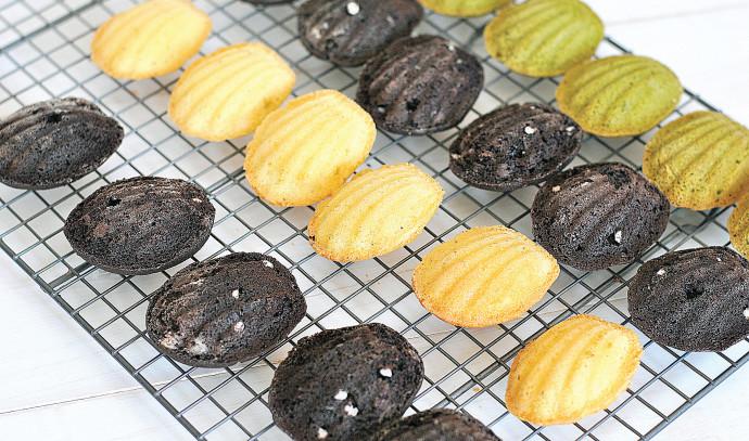 עוגיות מדלן בטעמים