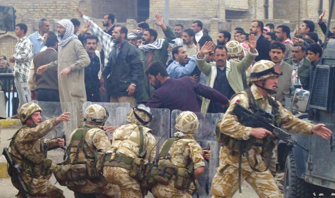 חיילים בריטים בעיראק