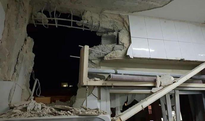 הריסות בבית בדמשק