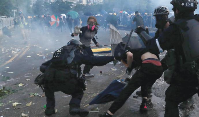 מהומות בהונג קונג