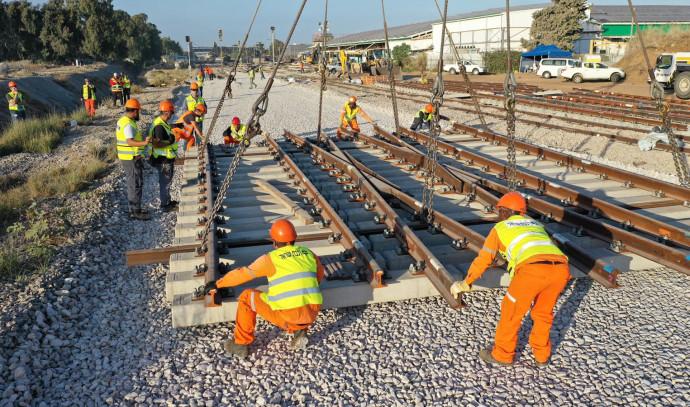עבודות רכבת ישראל