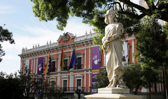 המשכן הנשיאותי בבוליביה, ארכיון