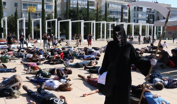 הפגנה נגד משבר האקלים