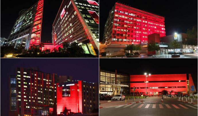 המרכזים הרופאיים מזדהים עם המאבק באיידס