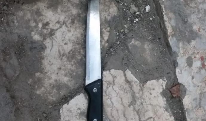 סכין במערת המכפלה