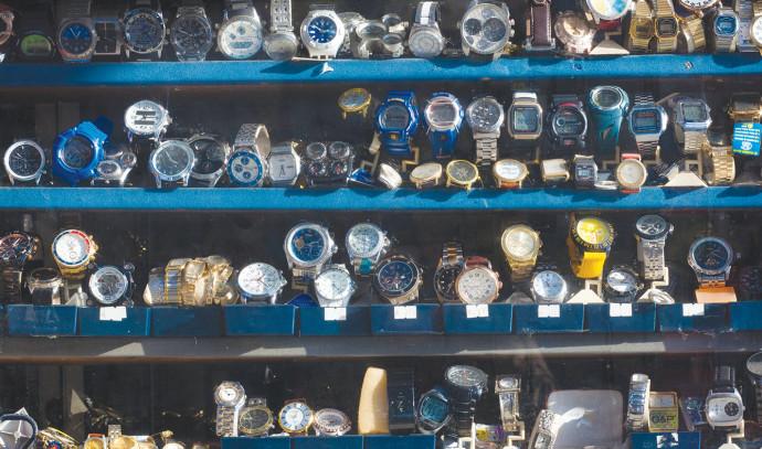 דוכן שעונים