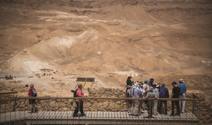 מטיילים ישראלים בדרום הארץ. צילום: יונתן זינדל, פלאש 90