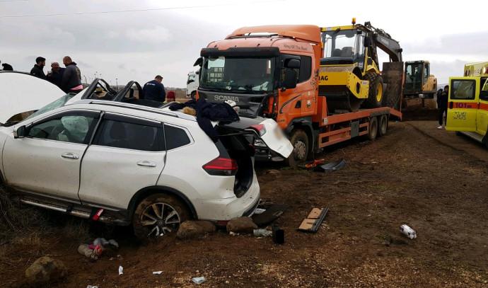 תאונת דרכים ברמת הגולן