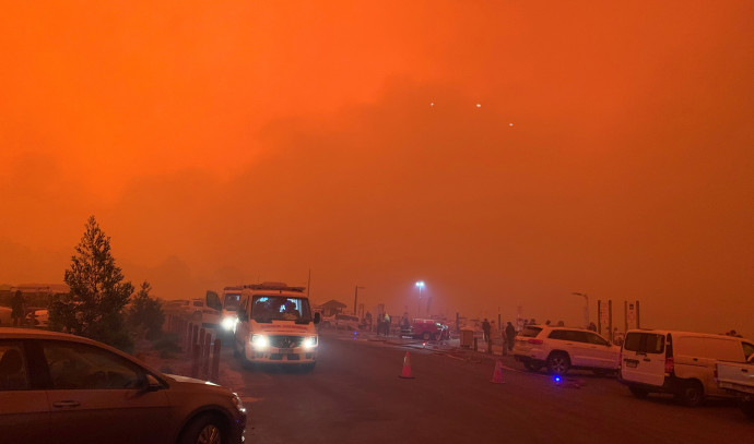 שריפה באוסטרליה