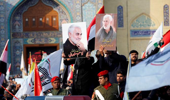 מסע הלוויה של קאסם סולימאני ואבו מהדי אל-מוהנדס