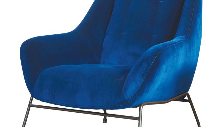 כורסא כחולה - פלורליס