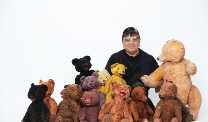 חנה הרצמן והדובים
