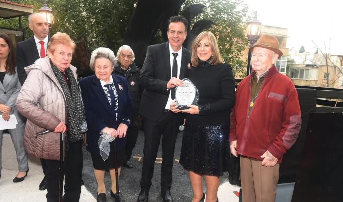טקס יום השואה הבינלאומי בחיפה