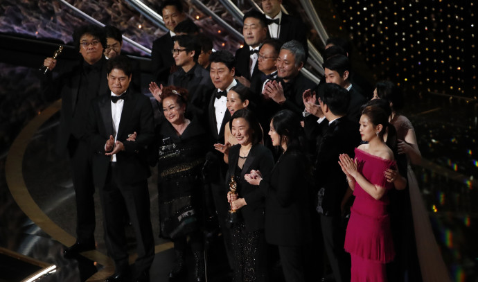"""""""פרזיטים"""" זוכה בפרס האוסקר 2020"""
