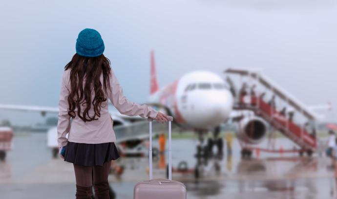ילדה, שדה תעופה