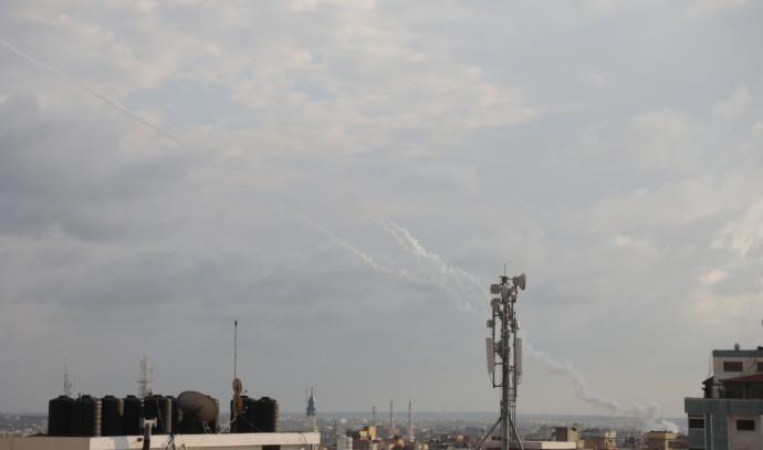 שיגור רקטות מרצועת עזה