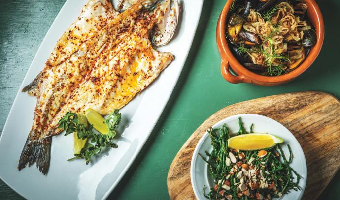 דג שלם פריך - מסעדת שאראק
