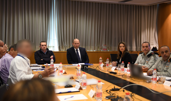הערכת מצב של שר הביטחון נפתלי בנט לגבי הקורונה