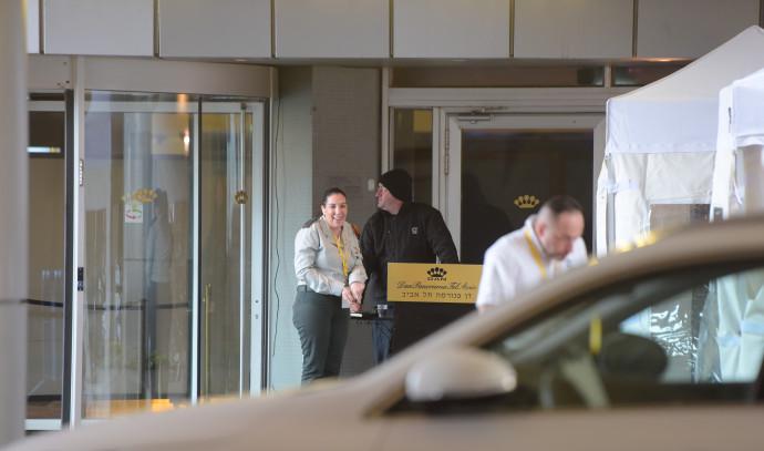 מלונית לחולי הקורונה מלון דן פנורמה
