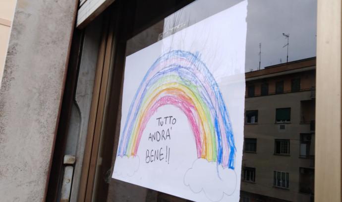 """שלט ברומא: """"הכל יהיה בסדר"""""""