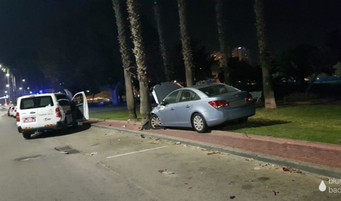 תאונת דרכים באשקלון