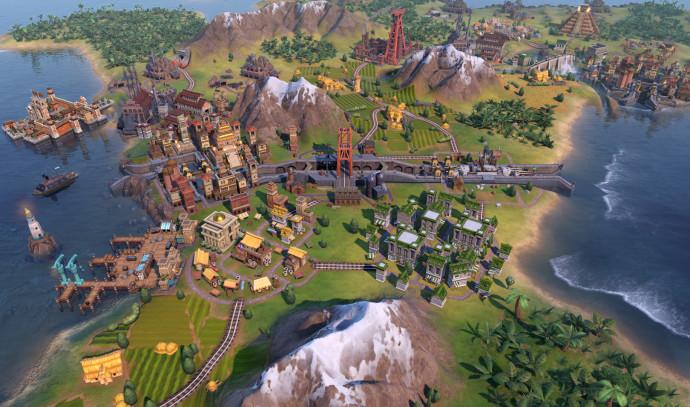 המשחק Civilization VI Gathering Storm