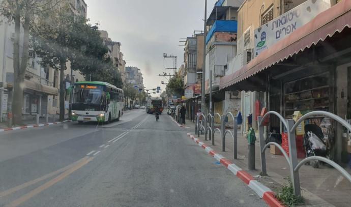 רחוב עקיבא בבני ברק פתוח לתנועה