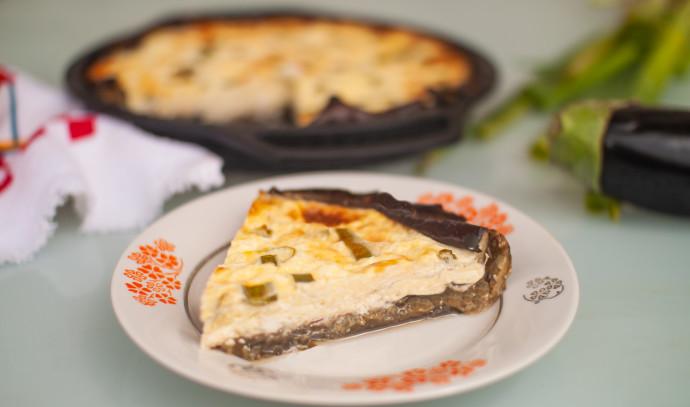 קיש גבינות עם קלתית מחצילים