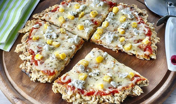 פיצה על בסיס קמח מצות