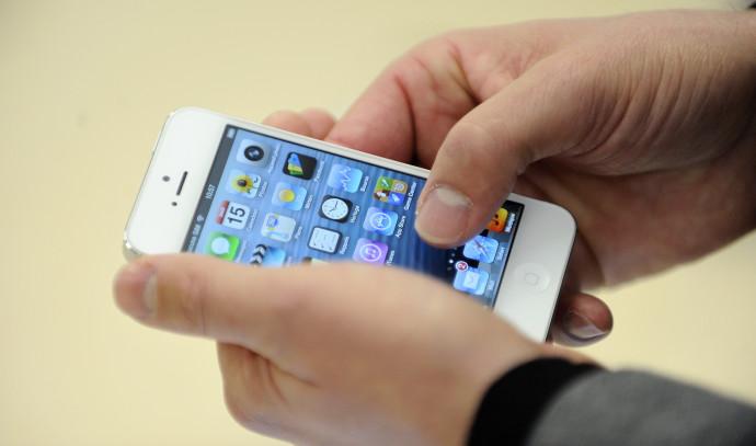 אייפון 5, ארכיון (למצולם אין קשר לנאמר בכתבה)