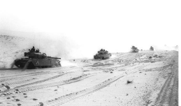 טנקי שיוט בסיני במלחמת יום הכיפורים