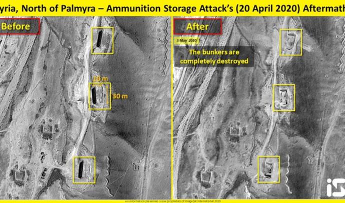 התקיפה ב-20 באפריל בסוריה