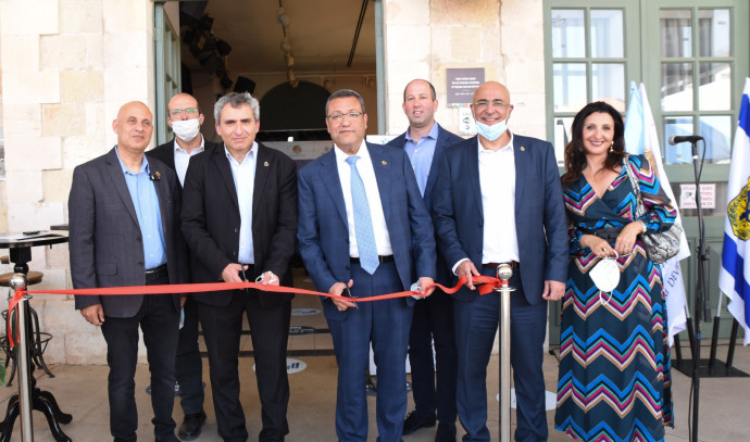 חנוכת מרכז הסיוע לעסקים בירושלים