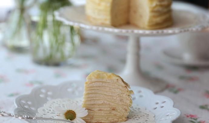 עוגת קרפים גבינה של תום פרנץ