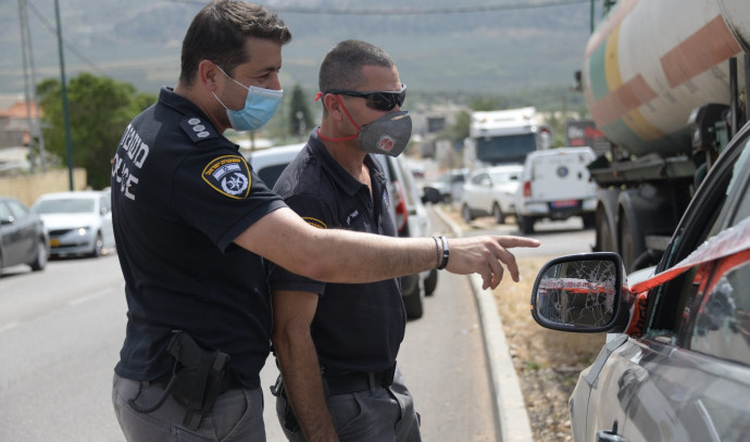 סריקות המשטרה באזור כפר מרר